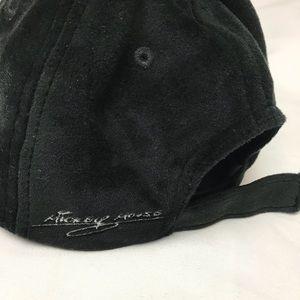 Disney Accessories - Disney Mickey Mouse Black Velvet Baseball Hat